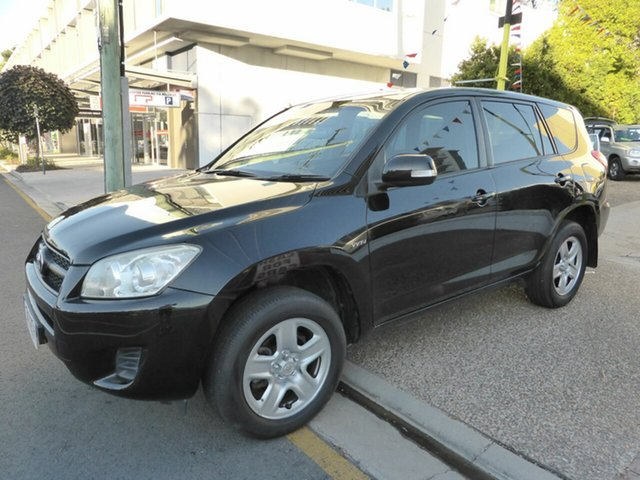 Used Toyota RAV4 ACA33R 08 Upgrade CV (4x4), 2009 Toyota RAV4 ACA33R 08 Upgrade CV (4x4) Black 4 Speed Automatic Wagon
