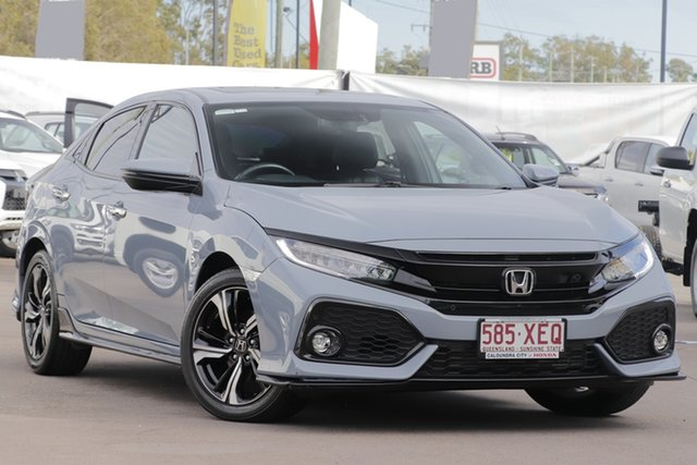Used Honda Civic 10th Gen MY17 RS, 2017 Honda Civic 10th Gen MY17 RS Sonic Grey 1 Speed Constant Variable Hatchback