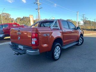 2015 Holden Colorado LTZ Orange Sports Automatic Dual Cab Utility.