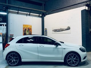 2014 Mercedes-Benz A-Class W176 A200 D-CT White 7 Speed Sports Automatic Dual Clutch Hatchback.
