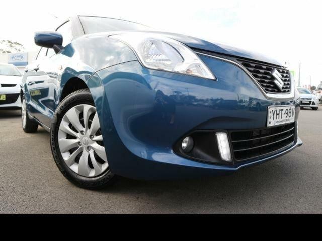 Used Suzuki Baleno  GL, 2017 Suzuki Baleno GL Blue 4 Speed Automatic Hatchback