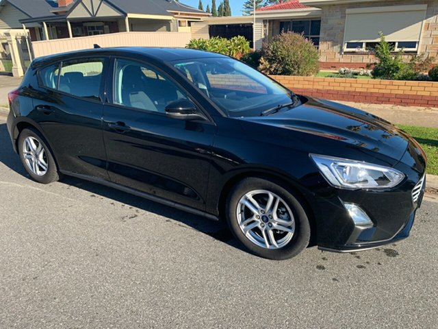 Used Ford Focus SA 2020.25MY Trend, 2019 Ford Focus SA 2020.25MY Trend Shadow Black 8 Speed Automatic Hatchback