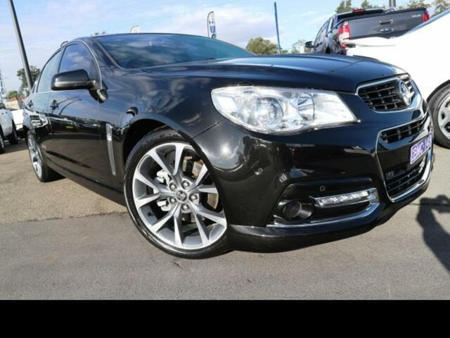 Used Holden Commodore VF MY15 SS-V, 2015 Holden Commodore VF MY15 SS-V Black 6 Speed Automatic Sedan