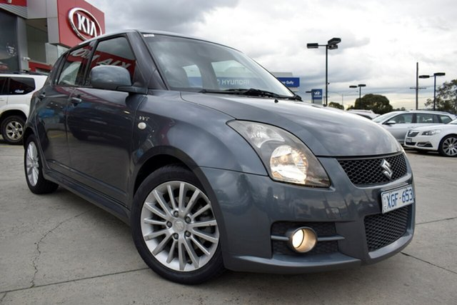 Used Suzuki Swift RS416 Sport, 2009 Suzuki Swift RS416 Sport Grey 5 Speed Manual Hatchback