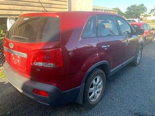2012 Kia Sorento XM Red Automatic Wagon.