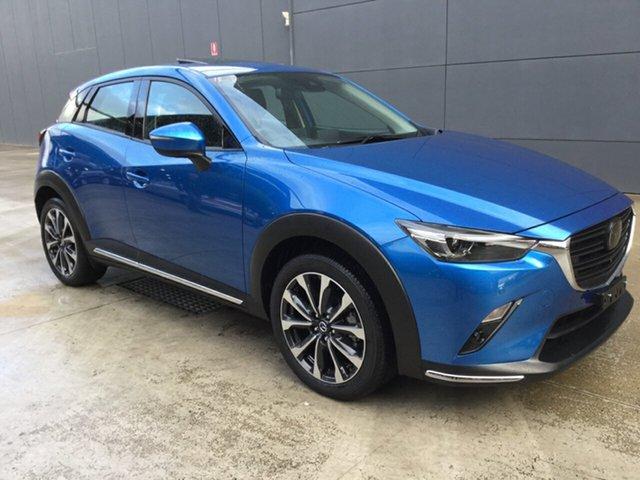 Used Mazda CX-3 DK4W7A Akari SKYACTIV-Drive i-ACTIV AWD, 2019 Mazda CX-3 DK4W7A Akari SKYACTIV-Drive i-ACTIV AWD Dynamic Blue 6 Speed Sports Automatic Wagon