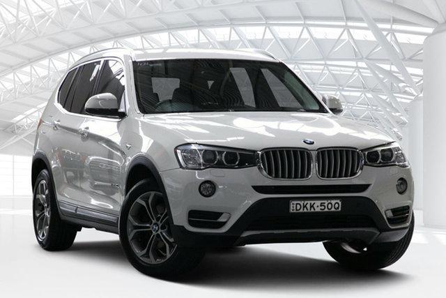Used BMW X3 F25 MY15 xDrive 20I, 2016 BMW X3 F25 MY15 xDrive 20I White 8 Speed Automatic Wagon