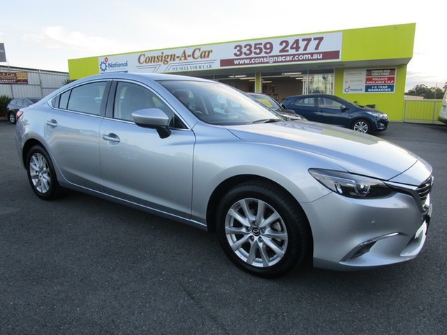 Used Mazda 6 GJ1032 Touring SKYACTIV-Drive, 2015 Mazda 6 GJ1032 Touring SKYACTIV-Drive Silver 6 Speed Sports Automatic Sedan