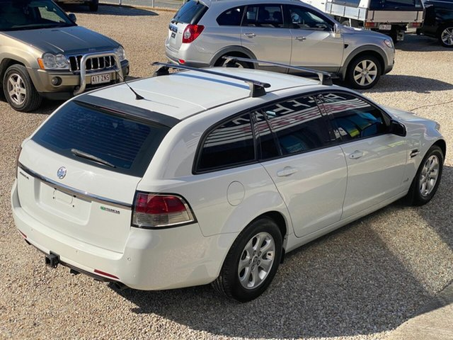 Used Holden Commodore VE II Omega, 2011 Holden Commodore VE II Omega White 6 Speed Automatic Utility