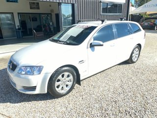 2011 Holden Commodore VE II Omega White 6 Speed Automatic Utility.