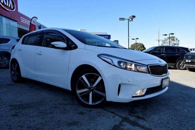 Used Kia Cerato YD MY17 Sport, 2017 Kia Cerato YD MY17 Sport White 6 Speed Sports Automatic Hatchback