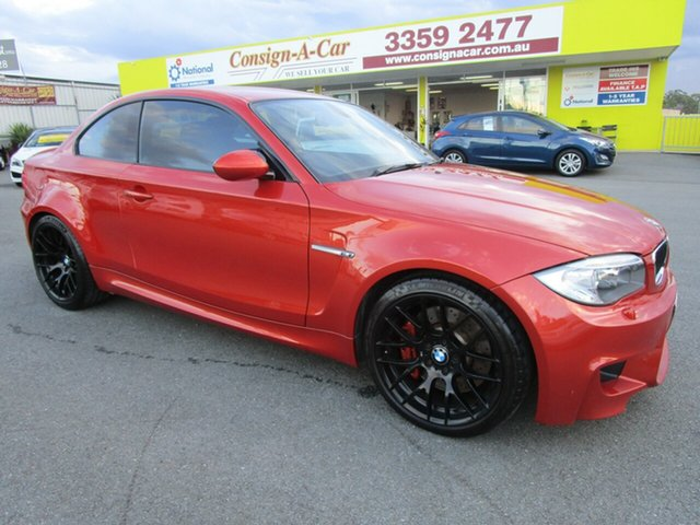 Used BMW 1M E82 LCI MY0911 , 2012 BMW 1M E82 LCI MY0911 Orange 6 Speed Manual Coupe