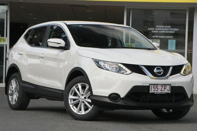 Used Nissan Qashqai J11 ST, 2015 Nissan Qashqai J11 ST White 1 Speed Constant Variable Wagon