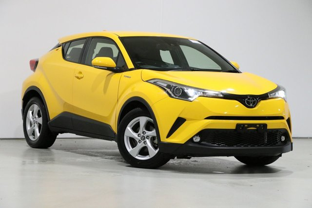 Used Toyota C-HR NGX10R Update (2WD), 2018 Toyota C-HR NGX10R Update (2WD) Hornet Yellow Continuous Variable Wagon