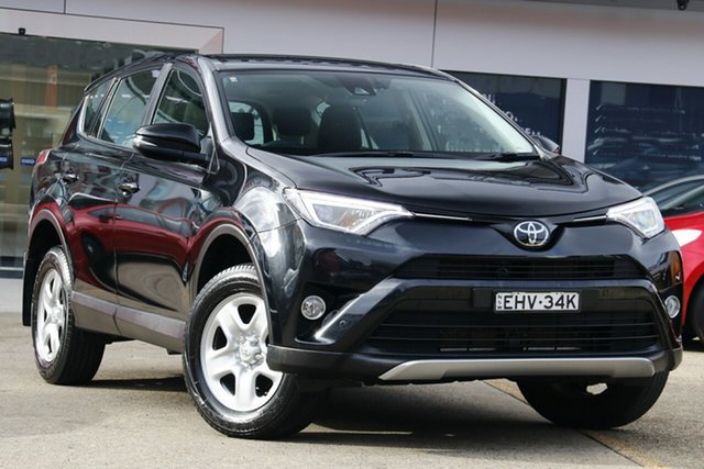 Used Toyota RAV4 ZSA42R MY18 GX (2WD), 2018 Toyota RAV4 ZSA42R MY18 GX (2WD) Black Continuous Variable Wagon