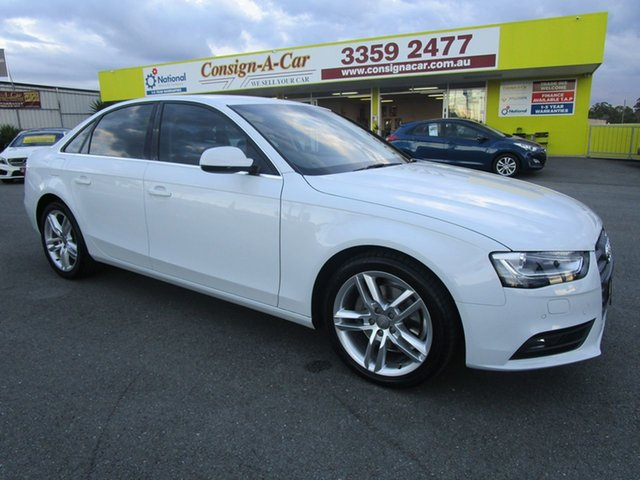 Used Audi A4 B8 8K MY15 Ambition S Tronic Quattro, 2015 Audi A4 B8 8K MY15 Ambition S Tronic Quattro White 7 Speed Sports Automatic Dual Clutch Sedan