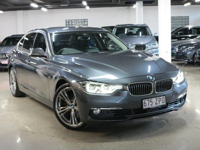 Used BMW 3 Series F30 LCI 330i Luxury Line, 2016 BMW 3 Series F30 LCI 330i Luxury Line Grey 8 Speed Sports Automatic Sedan