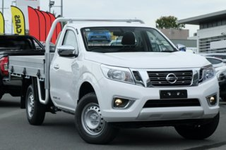 2020 Nissan Navara D23 S4 MY20 RX 4x2 Polar White 6 Speed Manual Cab Chassis.