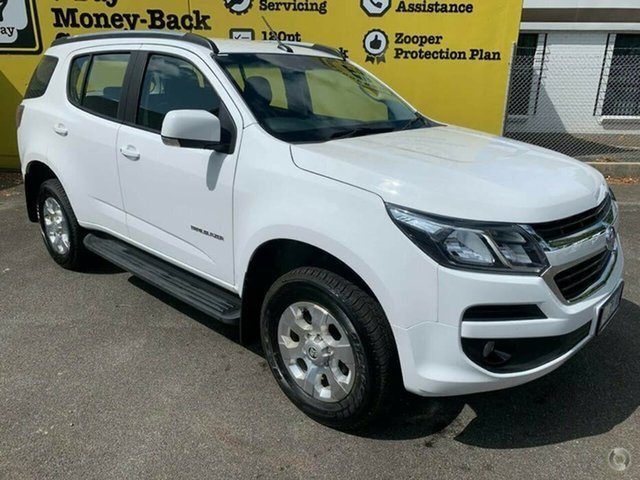Used Holden Trailblazer RG MY20 LT, 2019 Holden Trailblazer RG MY20 LT Summit White 6 Speed Sports Automatic Wagon