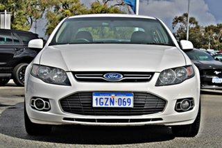 2014 Ford Falcon FG MkII G6 White 6 Speed Sports Automatic Sedan.