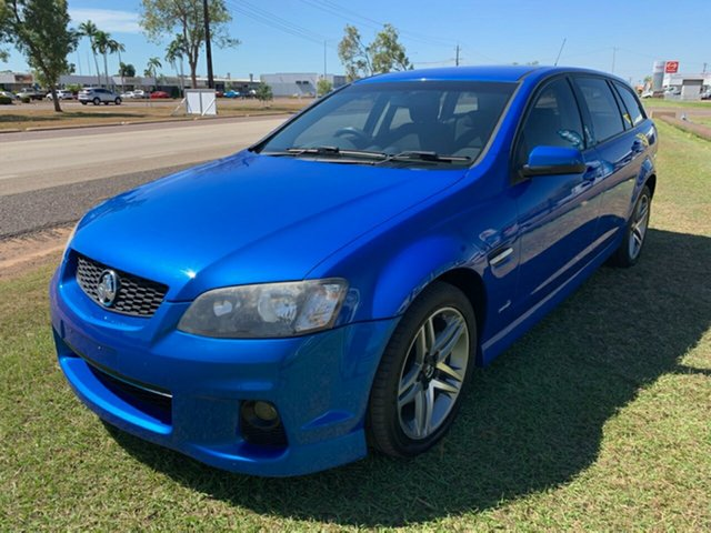 Used Holden Commodore VE II MY12 SV6 Sportwagon, 2011 Holden Commodore VE II MY12 SV6 Sportwagon Blue 6 Speed Sports Automatic Wagon