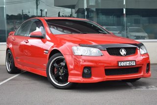 2011 Holden Commodore VE II MY12 SS V Red 6 Speed Manual Sedan