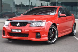 2011 Holden Commodore VE II MY12 SS V Red 6 Speed Manual Sedan.