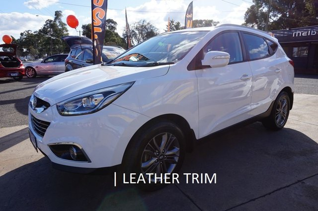 Used Hyundai ix35 LM3 MY14 Trophy, 2014 Hyundai ix35 LM3 MY14 Trophy Creamy White 6 Speed Sports Automatic Wagon