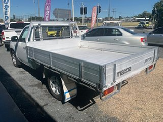 2009 Mazda BT-50 DX White Manual Cab Chassis