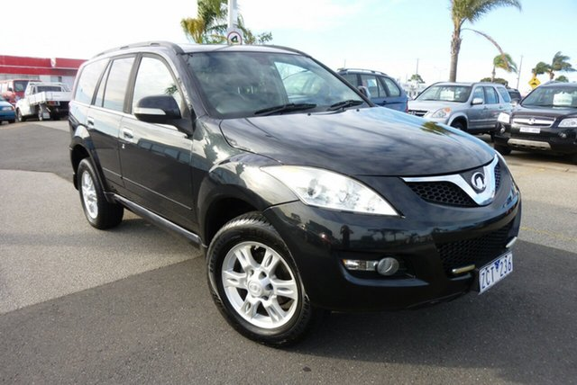 Used Great Wall X200 K2 , 2011 Great Wall X200 K2 Black 6 Speed Manual Wagon
