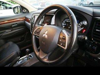 2012 Mitsubishi Outlander ZJ Aspire (4x4) White Continuous Variable Wagon