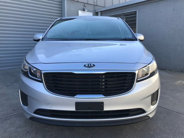 Used Kia Carnival YP MY16 S, 2015 Kia Carnival YP MY16 S Silver 6 Speed Sports Automatic Wagon