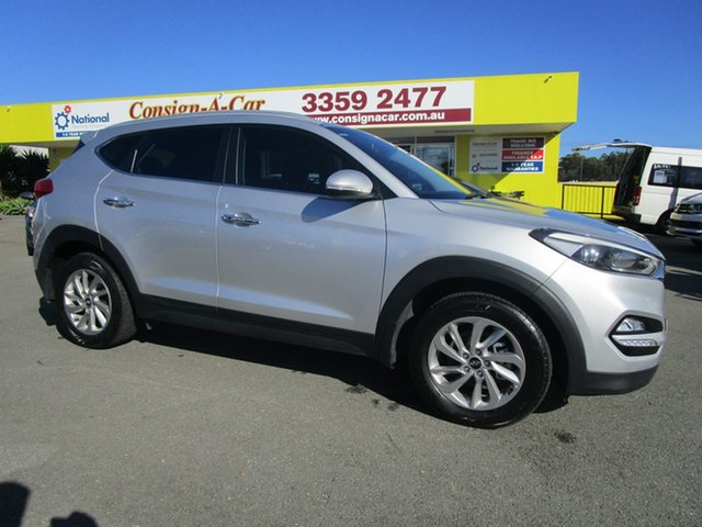 Used Hyundai Tucson TLE Elite D-CT AWD, 2015 Hyundai Tucson TLE Elite D-CT AWD Silver 7 Speed Sports Automatic Dual Clutch Wagon