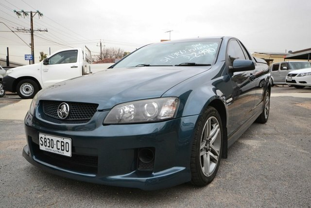 Used Holden Commodore VE SV6, 2008 Holden Commodore VE SV6 Blue 5 Speed Automatic Utility