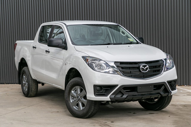 New Mazda BT-50 UR0YG1 XT, 2020 Mazda BT-50 UR0YG1 XT Cool White 6 Speed Sports Automatic Utility