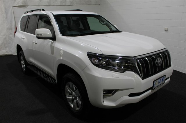 Used Toyota Landcruiser Prado GDJ150R GXL, 2018 Toyota Landcruiser Prado GDJ150R GXL White 6 Speed Sports Automatic Wagon