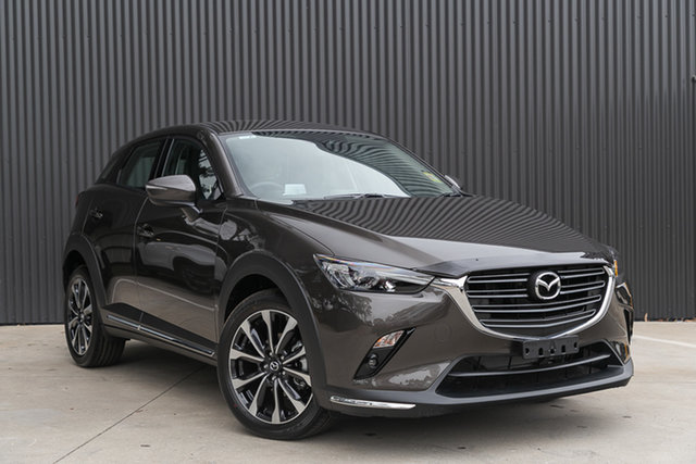 Demo Mazda CX-3 DK2W7A sTouring SKYACTIV-Drive FWD, 2020 Mazda CX-3 DK2W7A sTouring SKYACTIV-Drive FWD Titanium Flash 6 Speed Sports Automatic Wagon