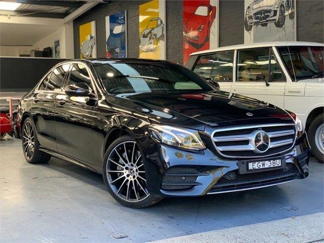 Used Mercedes-Benz E-Class W213 E300, 2017 Mercedes-Benz E-Class W213 E300 Obsidian Black Sports Automatic Sedan