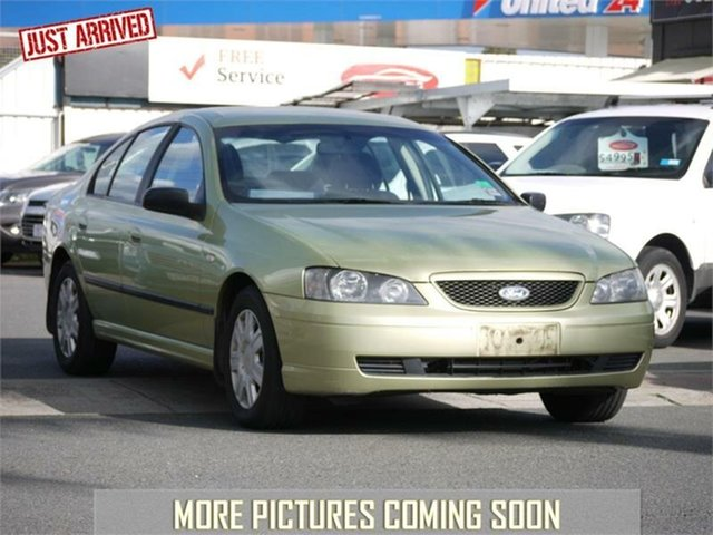 Used Ford Falcon BA XT, 2004 Ford Falcon BA XT Green 4 Speed Sports Automatic Sedan