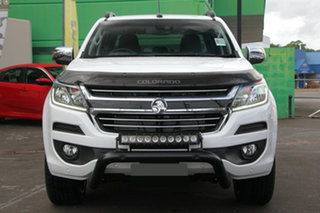 2019 Holden Colorado RG MY20 Storm Pickup Crew Cab White 6 Speed Sports Automatic Utility