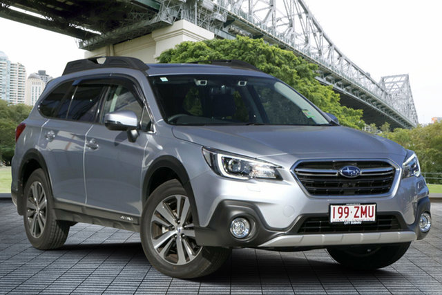Demo Subaru Outback B6A MY20 2.5i CVT AWD Premium, 2019 Subaru Outback B6A MY20 2.5i CVT AWD Premium Ice Silver 7 Speed Constant Variable Wagon