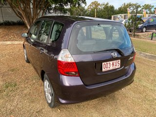 2007 Honda Jazz GD GLi Purple 5 Speed Manual Hatchback