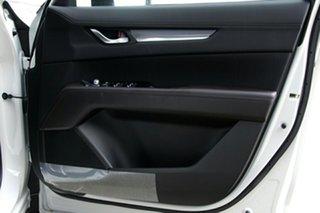 2020 Mazda CX-8 KG4W2A Sport SKYACTIV-Drive i-ACTIV AWD Snowflake White 6 Speed Sports Automatic