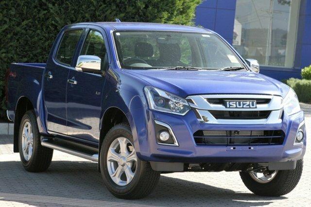 New Isuzu D-MAX MY19 LS-U Crew Cab, 2020 Isuzu D-MAX MY19 LS-U Crew Cab Cobalt Blue 6 Speed Sports Automatic Utility