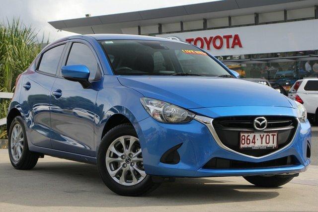 Used Mazda 2 DJ2HA6 Maxx SKYACTIV-MT, 2018 Mazda 2 DJ2HA6 Maxx SKYACTIV-MT Blue 6 Speed Manual Hatchback