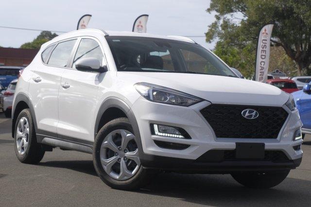 Used Hyundai Tucson TL3 MY19 Go 2WD, 2019 Hyundai Tucson TL3 MY19 Go 2WD Pure White 6 Speed Automatic Wagon