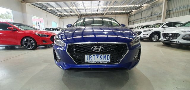 Demo Hyundai i30 PD2 MY20 Active, 2020 Hyundai i30 PD2 MY20 Active Intense Blue 6 Speed Sports Automatic Hatchback