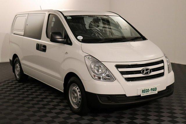 Used Hyundai iLOAD TQ3-V Series II MY16 Crew Cab, 2015 Hyundai iLOAD TQ3-V Series II MY16 Crew Cab White 5 speed Automatic Van