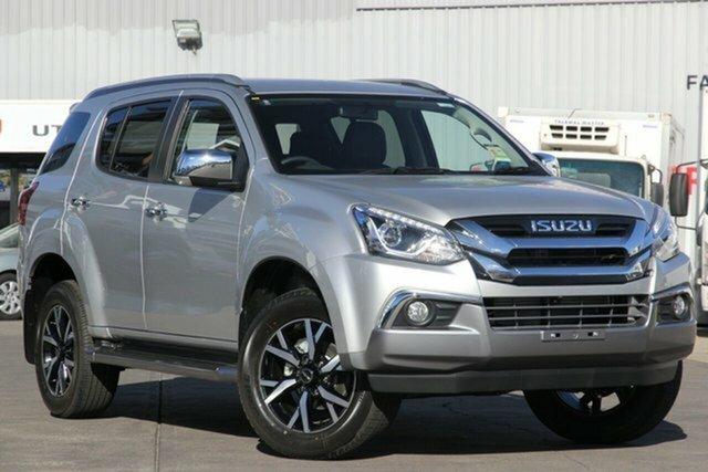 New Isuzu MU-X MY19 LS-T Rev-Tronic, 2020 Isuzu MU-X MY19 LS-T Rev-Tronic Titanium Silver 6 Speed Sports Automatic Wagon