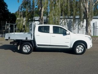 2014 Holden Colorado White 5 Speed Manual Dual Cab